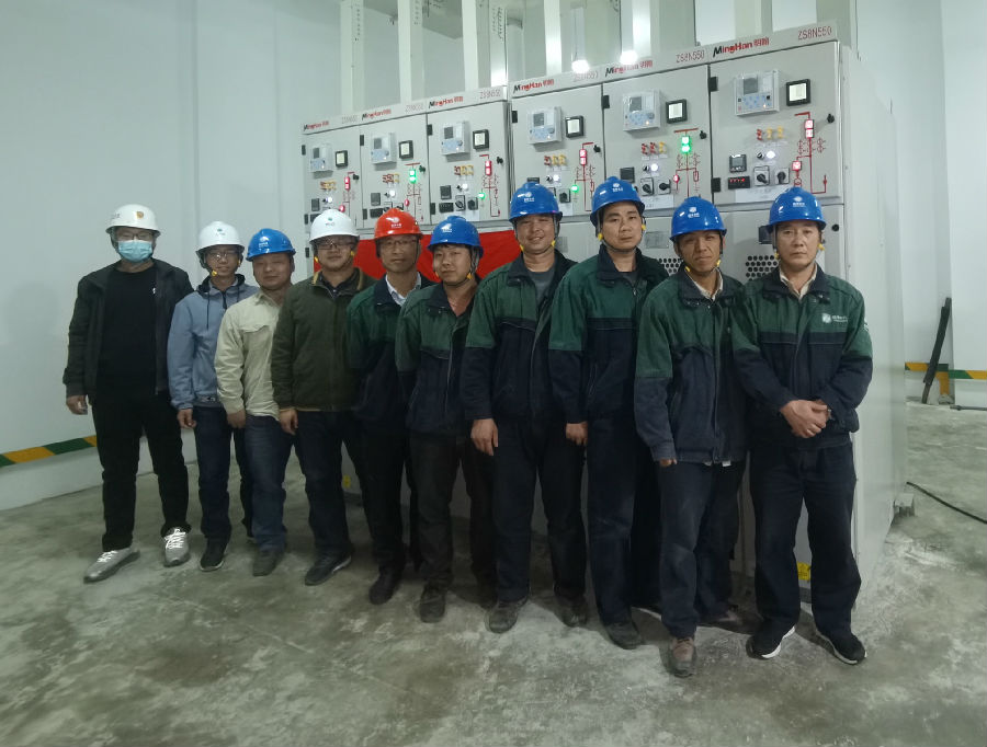 国电中兴电力集团承建的国防大学