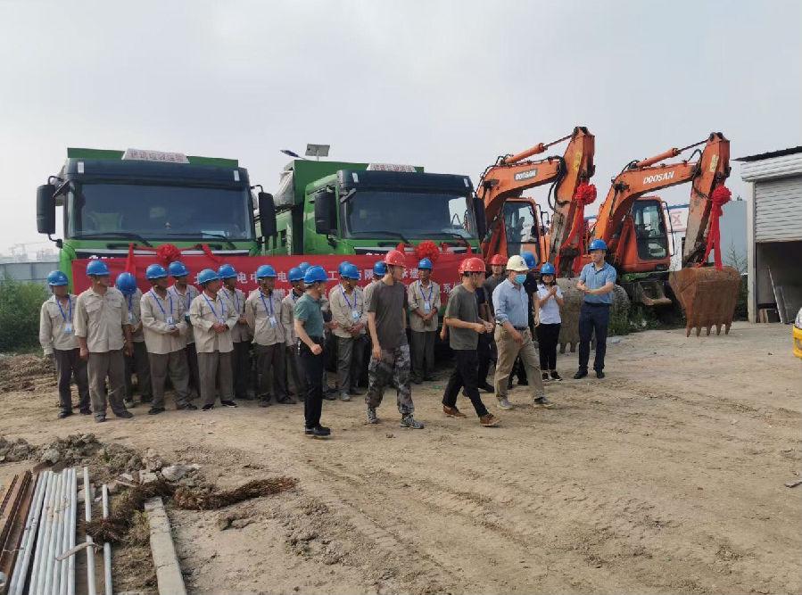 国电中兴电力集团承建的军队安置